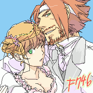 ディタ×リザ結婚式(村長Ver)